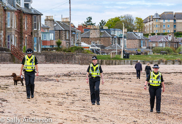 Beach patrol, North Berwick